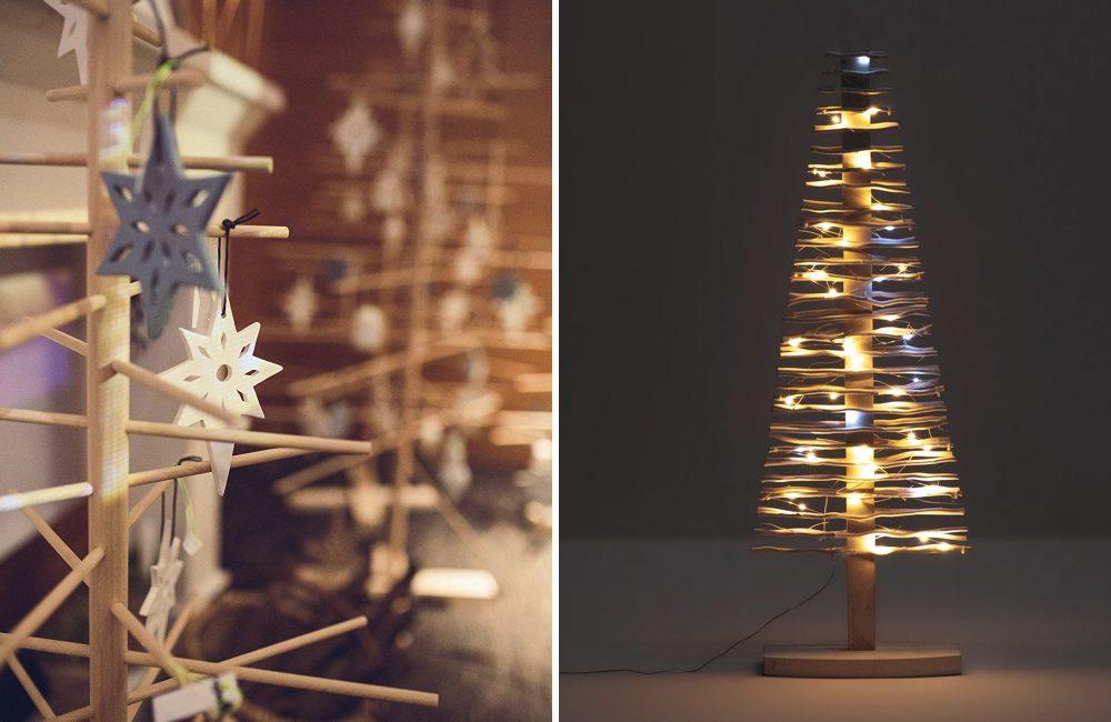 10 verrassende alternatieven voor een traditionele kerstboom