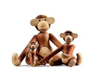 De iconische aap van Kay Bojesen krijgt gezelschap
