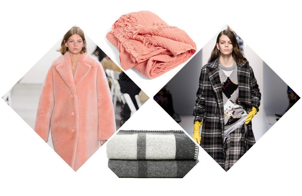 Van de catwalk naar je interieur: 4 modetrends vertaald in plaids