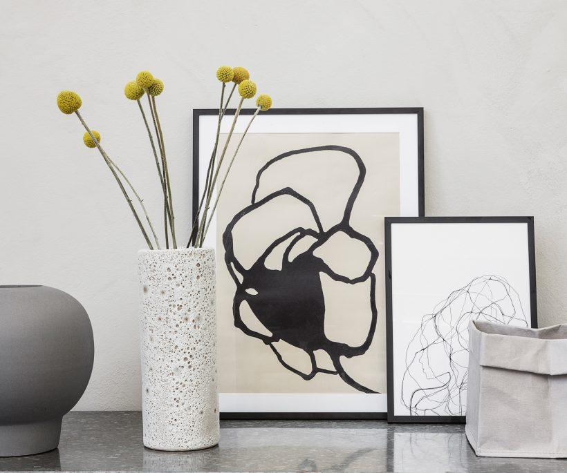 Trend: decoratie met artistieke lijnen