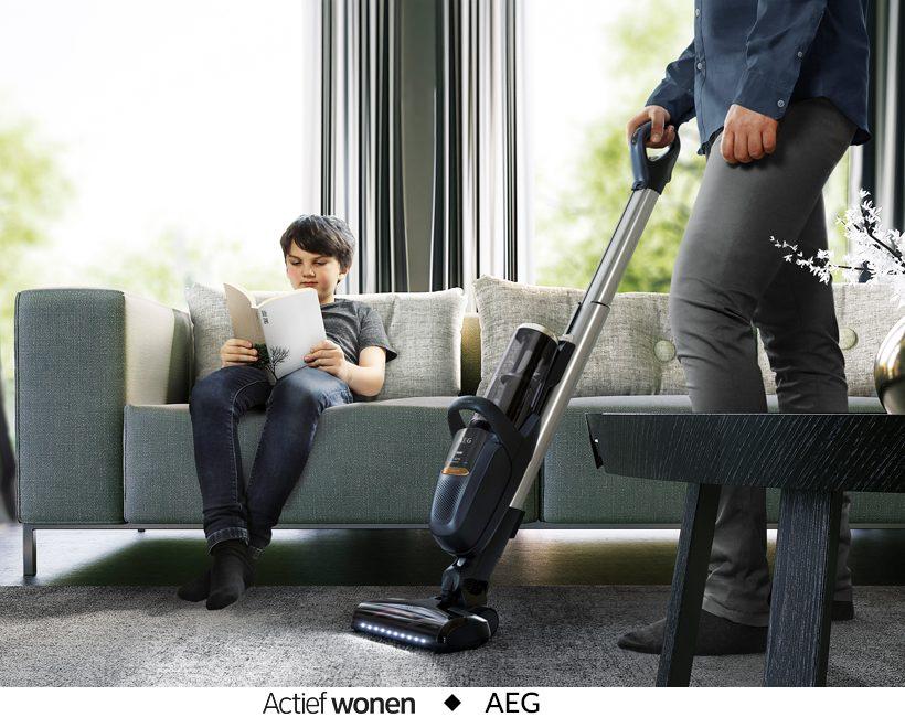 Maak kans en win een AEG FX9 stofzuiger ter waarde van 599,95€