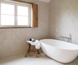 How to: gewaxt beton gebruiken in de badkamer