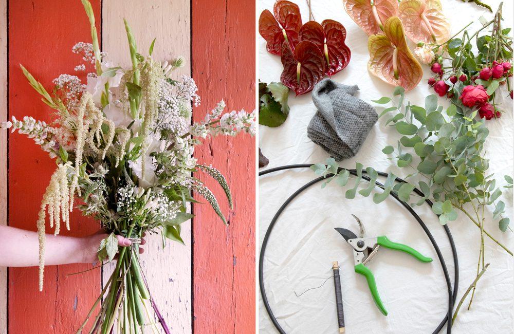 Hippe bloemenweelde in huis met Flowerbomb
