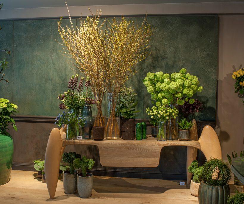 Florale magie bij Daniël Ost in Knokke