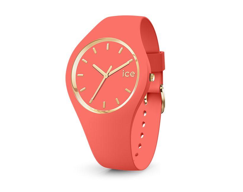 Win een ICE glam colour coral uurwerk ter waarde van €89