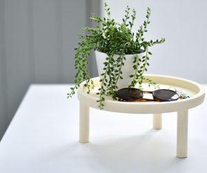 DIY: een houten plantenstandaard