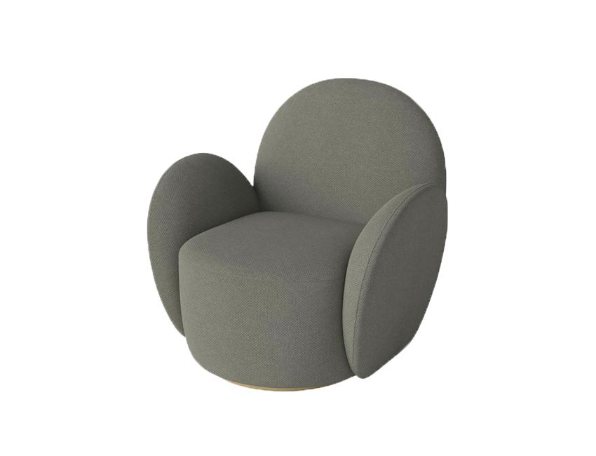organische vormen fauteuil lady bolia