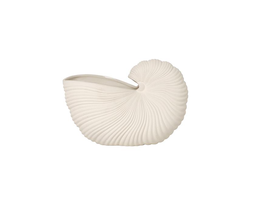 keramische vaas schelp ferm living organische vorm