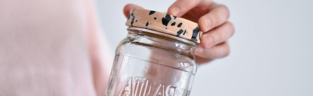 DIY: customize het deksel van je bewaarpot