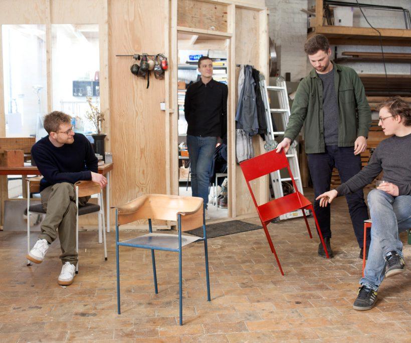 Belgisch designcollectief Vormen zet de deuren open