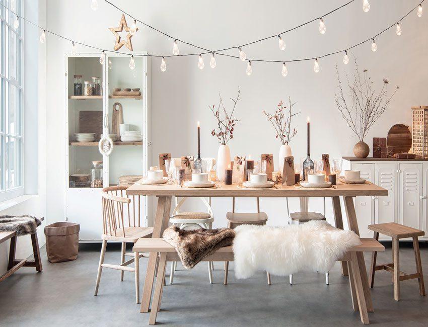 cocooning winterdecoratie feestnummer actief wonen maisons du monde