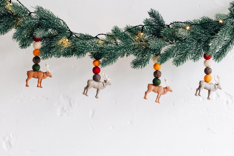 DIY: een kerstslinger met Playmobil