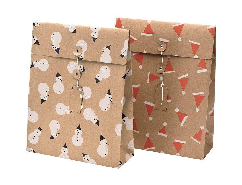 cadeauverpakking kerstmis