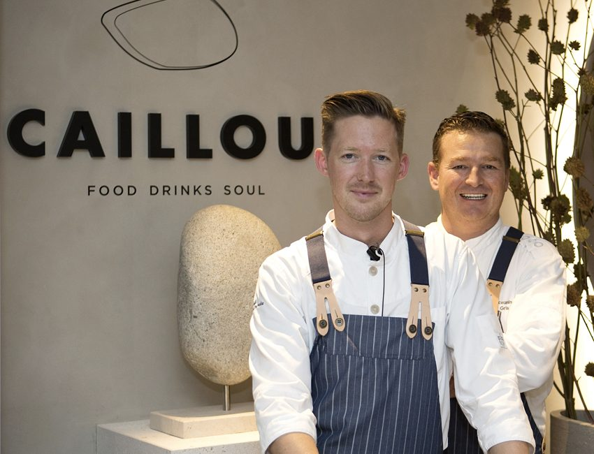 caillou-restaurant-knokke-marie's-corner-eigenaar frederik deceuninck en chef sander van de walle
