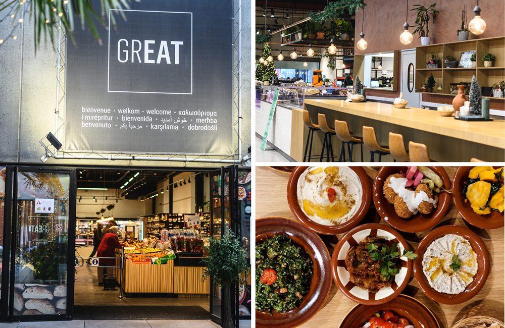 Great Market: een nieuwe food market in Brussel