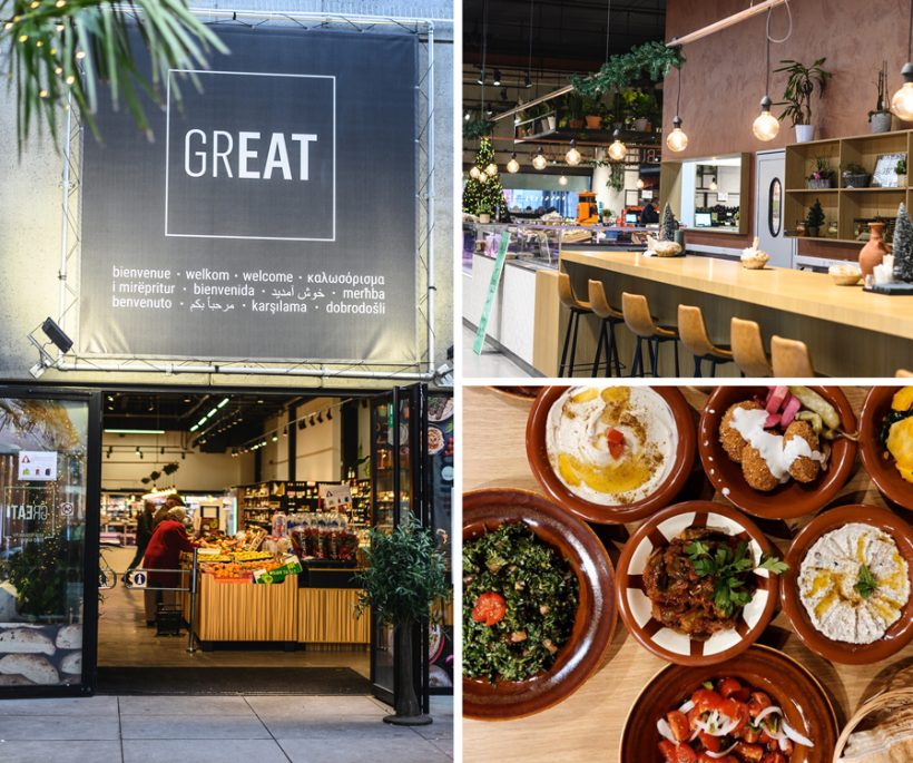 Great Market: een nieuwe food market in Brussel