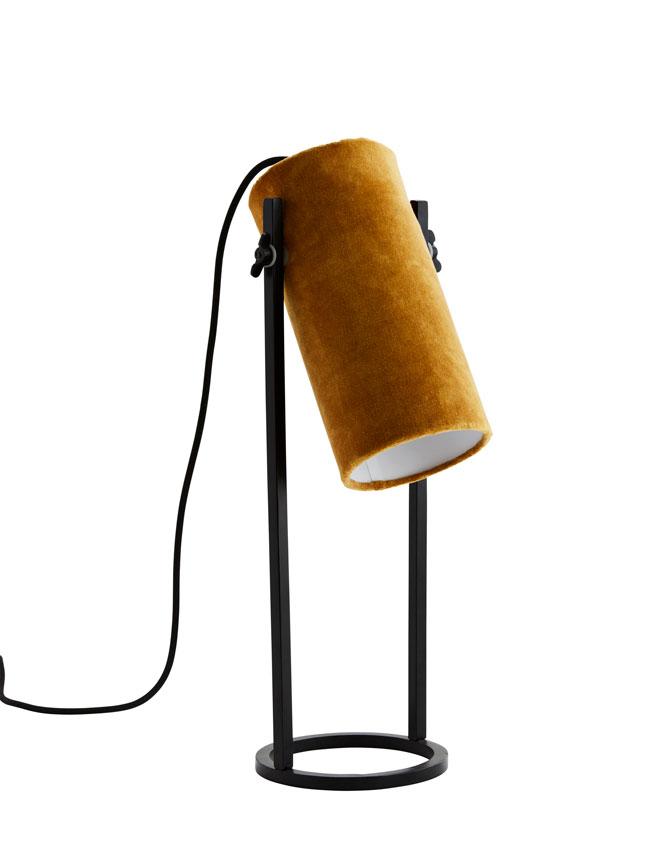 tafellamp madam stoltz fluweel
