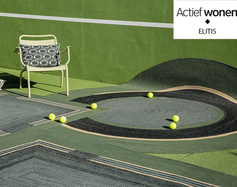 Deco must-have voor 2020: de in- en outdoor tapijten van Elitis