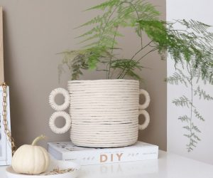 DIY: geef je oude bloempot een hippe update
