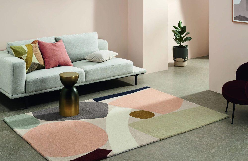 Trend: een retro interieur in serene kleuren