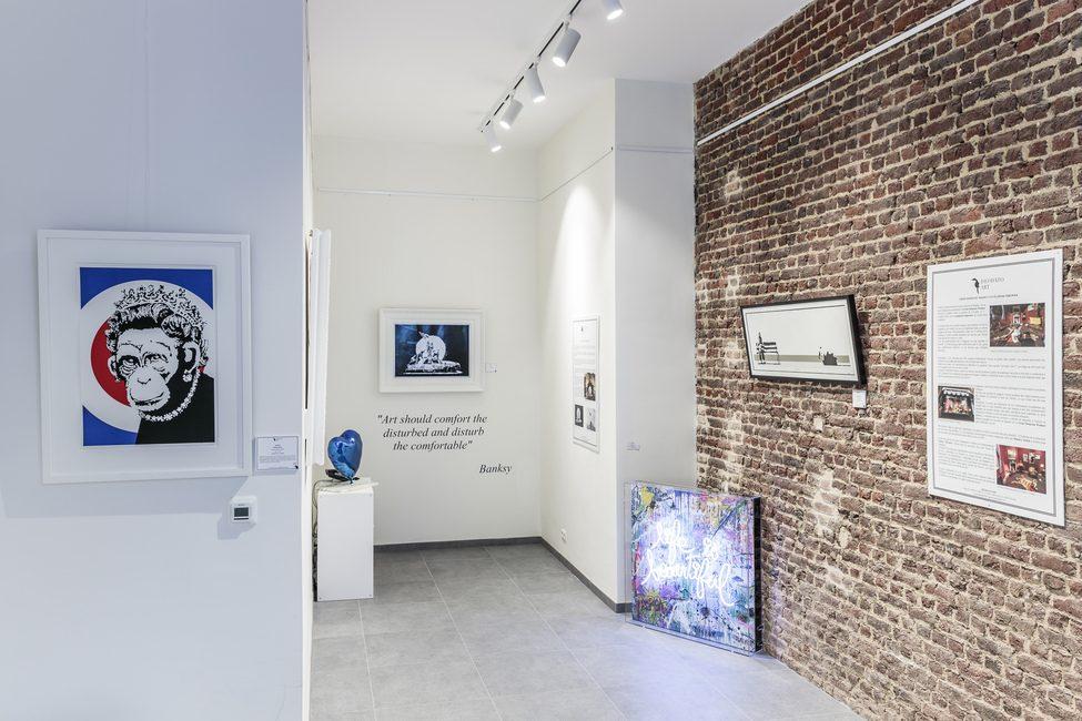 "Cultuurtip: ""Banksy. The Brussels Show"" bij galerie Deodato in Brussel"