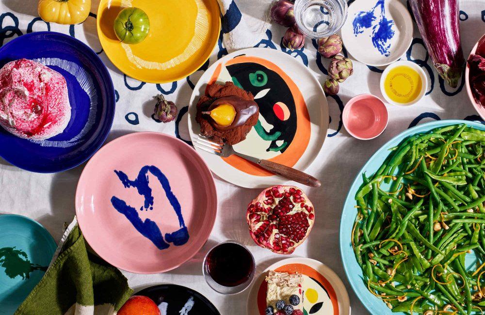Serax lanceert serviescollectie in samenwerking met chef-kok Ottolenghi