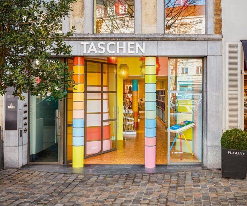 In beeld: de nieuwe vestiging van boekenwinkel TASCHEN in Brussel