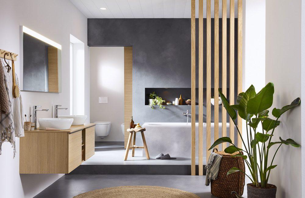 Zien: de nieuwe badkamercollectie van Bertrand Lejoly voor Duravit