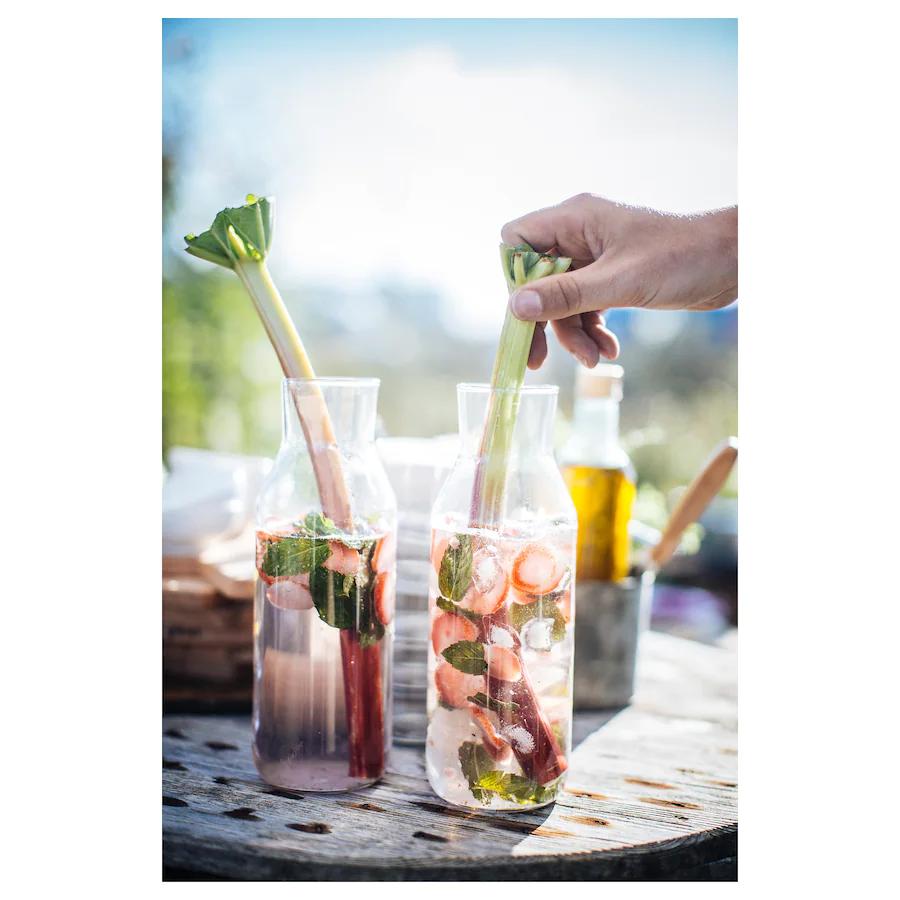 IKEA 365+, Karaf met kurk, helder glas/kurk - €3,50