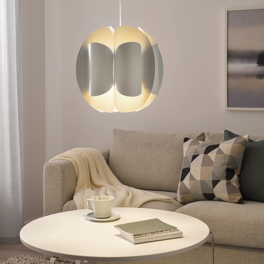 TRUBBNATE, Hanglamp, wit - €15