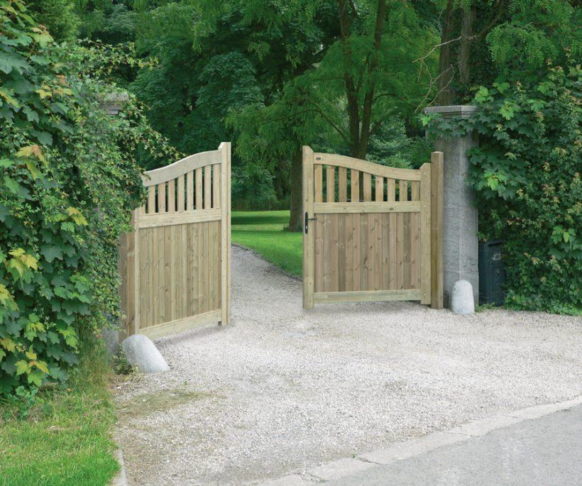 Maak kans op een houten poort en outdoor opbergkist van Kaliwood